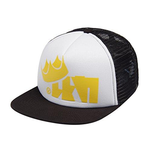 qingning Splat Kappe Hut Cosplay Zubehör King Flip Mesh Baseball Trucker Cap Halloween Kostüme Geburtstag Geschenk