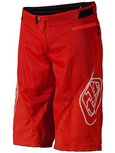 Troy Lee Designs Solid Rot 2018 Sprint MTB Kinder Shorts (Kinder 22, Rot)