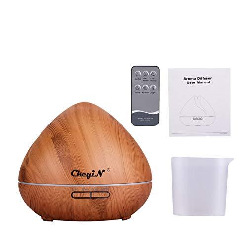 550ml Difusor de Aromaterapia,7 Agujeros Difusor de Aceite Esencial/Humidificador Ultrasónico-7...