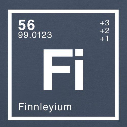 Finnley Periodensystem - Herren T-Shirt - 13 Farben Navy