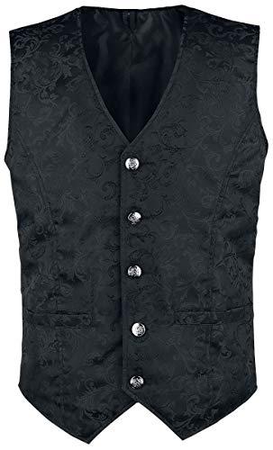 Altana Industries Brocade Vest Weste schwarz L -