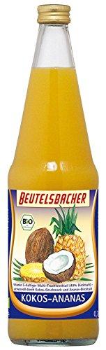 Kokos-saft (Beutelsbacher Bio Kokos-Ananas Bio (6 x 700 ml))