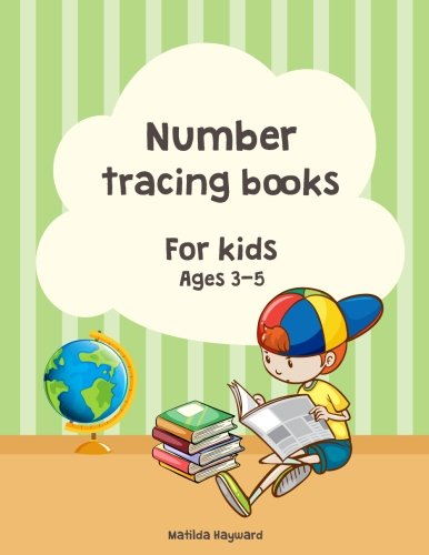 Number tracing books for kids ages 3-5.: Learn numbers 1 to 10, 2 Style!, Coloring number, Practice For Kids, Ages 3-5, Number Writing Practice(1-10) por Matilda Hayward