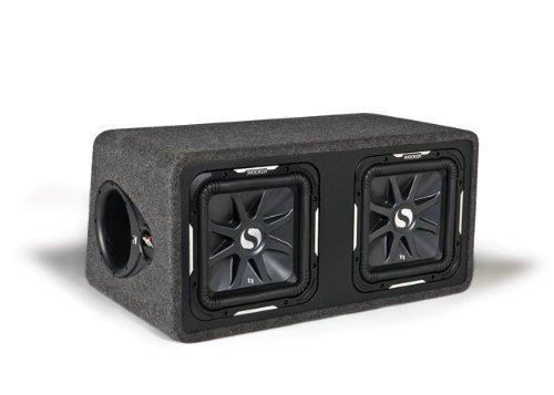 KICKER Dual-Bassreflexbox 11 DS12L72 Subwoofer Car-audio-kicker