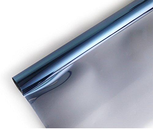 40 cm UV Folie 2er-Set Selbsthaftende Isolier-Spiegelfolie Sicht-//UV-Schutz