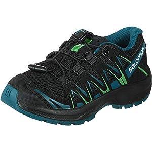 Salomon Unisex-Kinder Xa Pro 3D J Trailrunning-Schuhe, Synthetik/Textil
