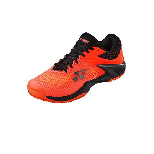 Yonex Herren Power Cushion Eclipsion 2 Tennisschuhe Allcourtschuh Orange - Schwarz 43