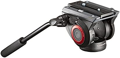 Manfrotto Lightweight Fluid Video Head with Flat Base