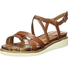 Tamaris 1-1-28207-24, Sandali con Cinturino alla Caviglia Donna, Braun Nut Comb 441, 40 EU