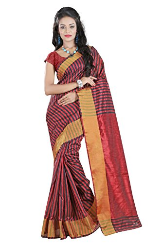 Sharanam Saree Women's Multi-Color Art-Silk Saree  available at amazon for Rs.219