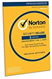 Norton Security Deluxe 2019 | 5 Geräte | 1 Jahr | PC/Mac/iOS/Android | Download