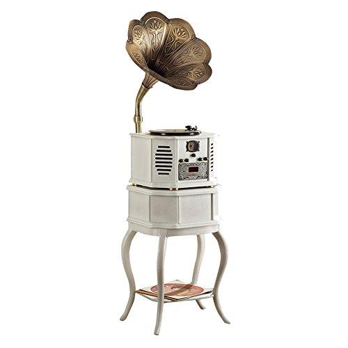,sitang Antike Drehscheiben Lautsprecher Retro-Vintage-Plattenspieler Plattenspieler Continental MLG662G Antik-server