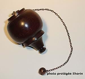 Pendule pointu Bois avec Chambre (radiesthésie - voyance) livraison gratuite