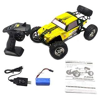 Monllack HBX 12889 12.01 2.4G 26km / h 4WD RC Truggy Thruster Off Road Desert Truck Zwei Speed   Mode RC Car Spielzeug für Kinder