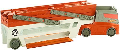 Hot Wheels-Ftf68 Megacamión, (Mattel FTF68)