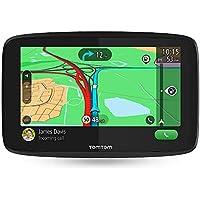 TomTom Car Sat Nav GO Essential, 5 Inch with Handsfree Calling, Siri, Google Now, Updates via Wi-Fi, Lifetime Traffic via Smartphone and EU Maps, Smartphone Messages, Capacitive Screen