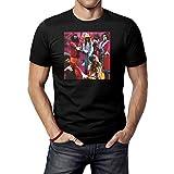 Photo de JINFENGT Men's T-Shirts/Homme Manches Courtes Captain Beefheart and His Magic Band T-Shirts Tee Black par JINFENGT