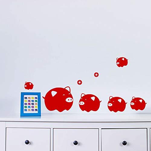 aufkleber für wohnkultur wohnzimmer fenster glas dekoration pvc chinese new year abziehbilder wandbild art22 * 48 cm ()