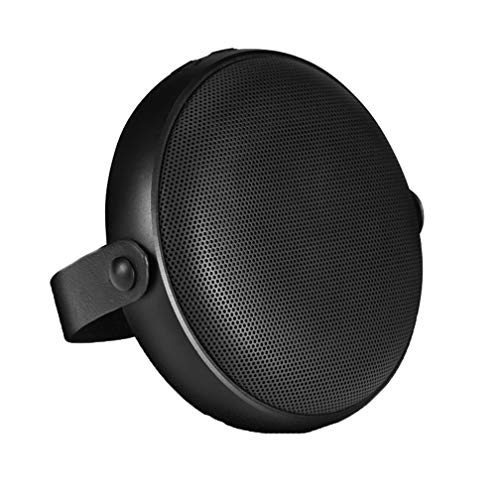 Drahtlose Bluetooth-Speaker, Wireless Metal Mini Cannon, Subwoofer Mini Portable Bluetooth Speaker, USB Interface, Button Operation, Support TF Card,Black