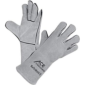 R/ésistants /à la Chaleur ACE Gants de Soudeur L/égers SafeWeld en Cuir 11 XL Gants de s/écurit/é Gants de Travail en 388 en 12477
