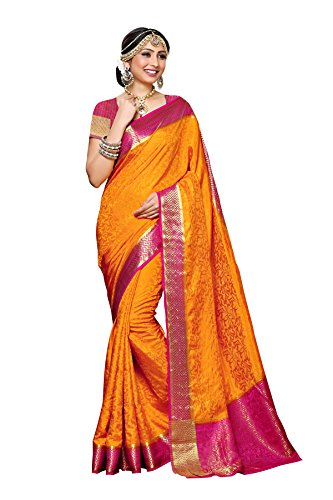 Mimosa-By-Kupinda-Womens-Tusser-Silk-Saree-Kanjivaram-Style-Color-Gold-3397-2073-GD-RNI