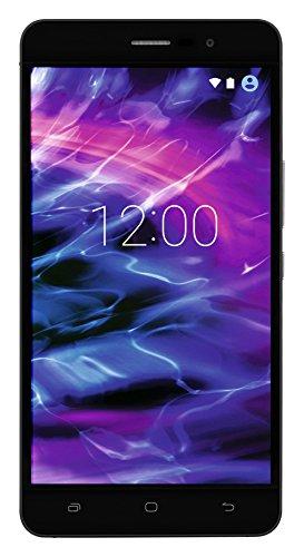 MEDION S5504 Smartphone (13,97 cm (5.5 Zoll) HD Touchscreen-Display, LTE, 13 Megapixel Rückkamera, 8 Megapixel Frontkamera, Octa-Core-Prozessor, Dual-SIM, 32 GB, Android Lollipop 5.1) schwarz