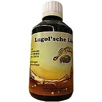 Lugolsche Lösung 5% ige Tinktur 0,25 Liter 250ml preisvergleich bei billige-tabletten.eu