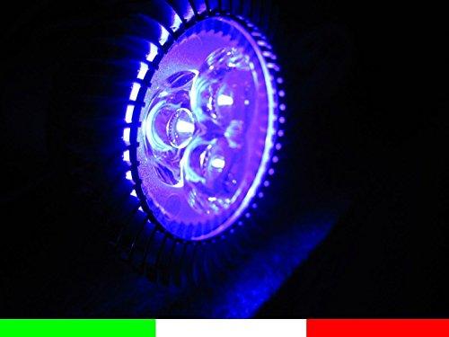 Aftertech® UV MR163x 2W LED 6W Bombilla Foco