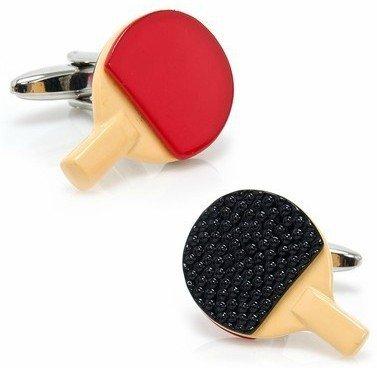 S+S Ss Ping Pong Paddle Manschettenknöpfe für Herren