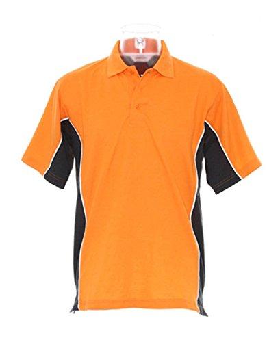 Kustom Kit Gamegear Track Polo da KK475 Orange/Graphite