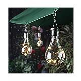 sunnymi Hochwertige Solar-Kupferbirne Hängen/Wasserdicht Drehbar/Outdoor Garten Camping/LED-Glühbirne