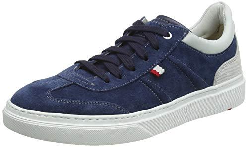 LLOYD Herren Agostino Sneaker, Blau (Jeans/Midnight Blue/White/Bianco 4), 41 EU
