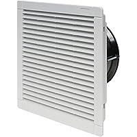 Finder 7F5082304230 - Ventilador con filtro para uso interno 230 m³/h AC (50/60Hz) 230 V 40 W tamaño 4 224 x 224 mm color blanco