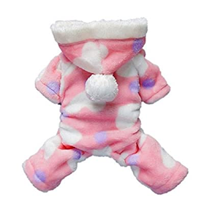 Pet Clothes,Ouneed ® Hoodie Coat Jumpsuit for Pet Puppy Dog Cat Clothes Costume Apparel