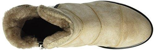 Bogner Oslo 1i, Bottes courtes avec doublure chaude femme Blanc Cassé - Elfenbein (50 offwhite)