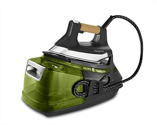 Rowenta Silence Steam Pro DG9266 2800 W 1,3 L Suela Microsteam 400 Negro, Verde - Centro de planchado...