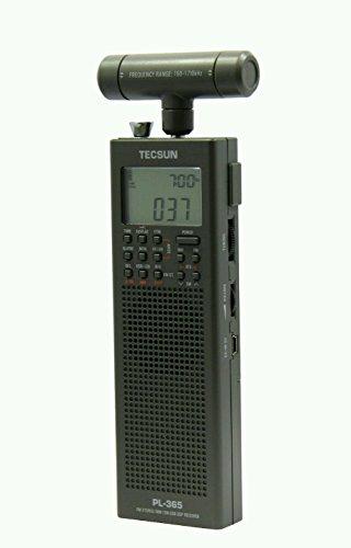 Tecsun PL-365 Mini DSP SSB Weltempfänger mit Rahmenantenne Air Band