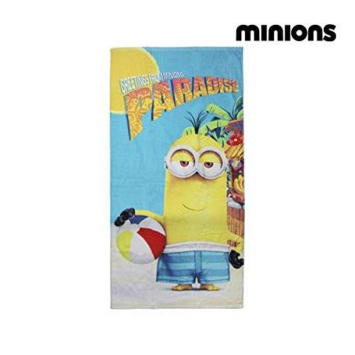 Minions-2200002802 Toalla Playa y Piscina (Artesania Cerda 2200002802)
