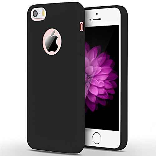 SpiritSun Funda iPhone 5 / 5S Soft Carcasa Funda Ultrafina TPU Bumper para iPhone 5 / 5S / SE (4.0...