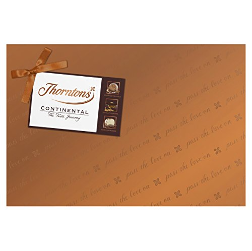 Thorntons Continental Chocolate Collection Gift Wrapped, 142 g (Pack of 3)