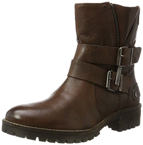 Pepe Jeans London Hellen Zip, Stivali Donna Marrone (Brown)