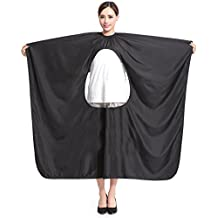 Hrph Peluquería Peluquería Hairstylist Cape Gown Impermeable Barber Cover Cloth Transparent Covers