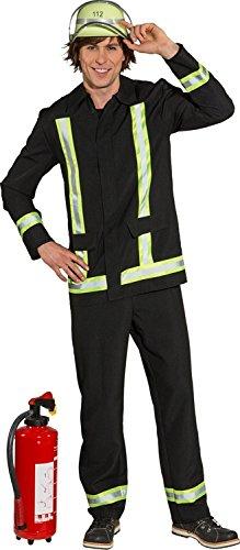 Orlob Herren Kostüm Feuerwehrmann Karneval Fasching Gr.50/52
