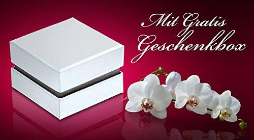 Flame -Ringe 2 Trauringe Partnerringe Edelstahl 1 Zirkonia weiss -gratis Wunschgravur E-BH-HD