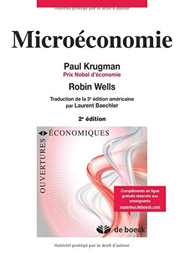 Microeconomie par Paul R. Krugman
