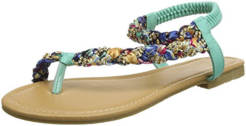 Browns Joe Green Diamante Absatz Sunset Multi Damen green Sandals PfpvS