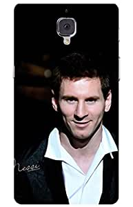 iessential football Designer Printed Back Case Cover for OnePlus 3