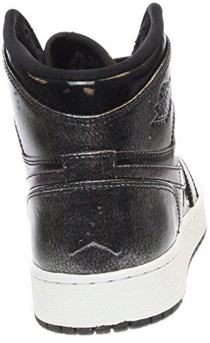 Nike Jungen 705300-017 Basketballschuhe Black