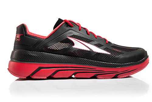 Altra Duo Uomo Zero Drop Road Running Shoes Red, Black/Red, 11,5 UK