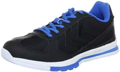 hummel flex 60 112 2573 damen sportschuhe indoor schwarz black brilliant blue white 2573. Black Bedroom Furniture Sets. Home Design Ideas